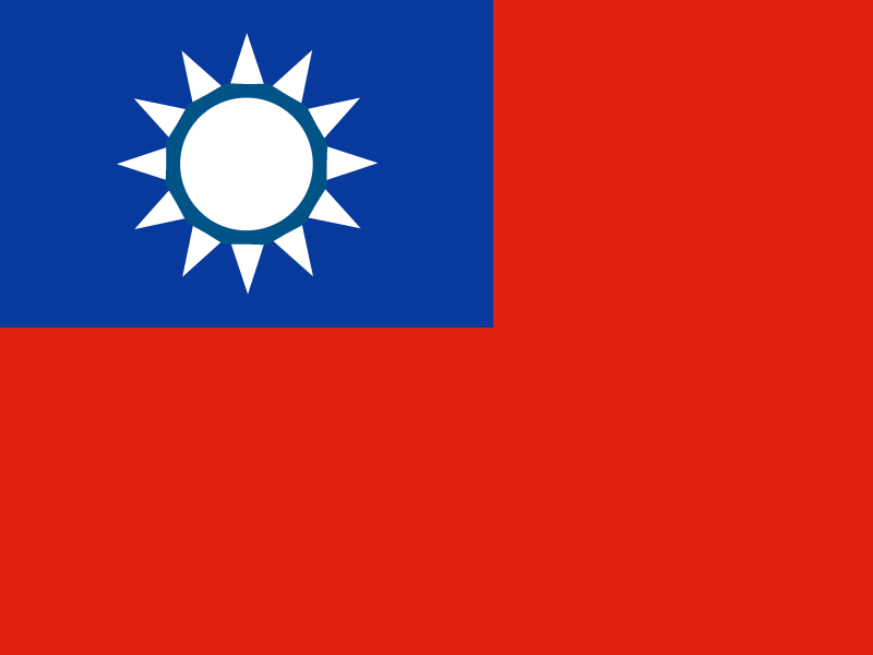 Flag of Taiwan vector logo