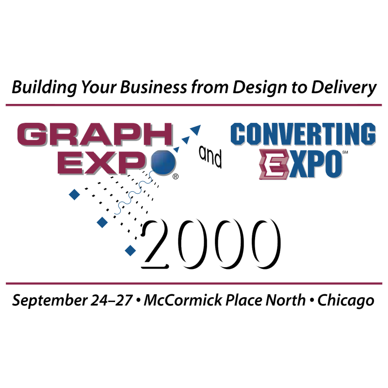 Graph Expo and Converting Expo 2000 vector logo