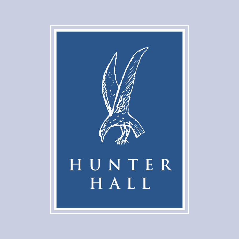 Hunter Hall vector logo