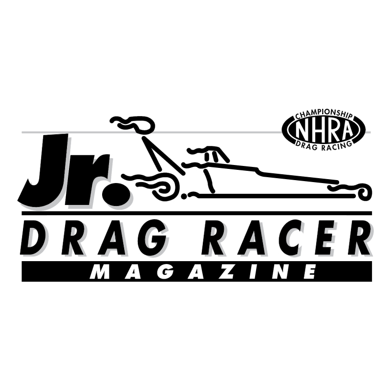 Jr Drag Racer vector