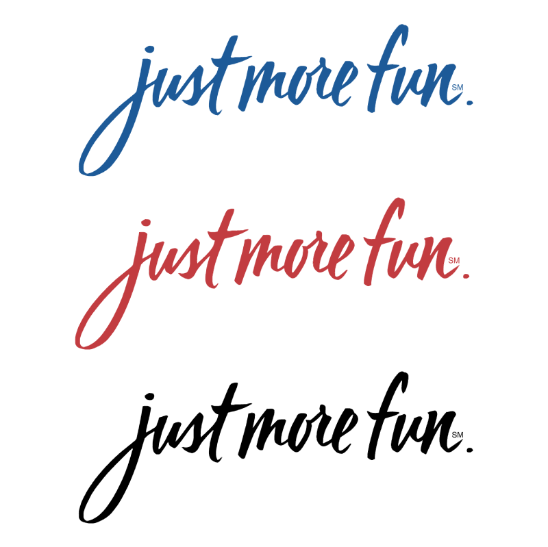 Just more fun logo