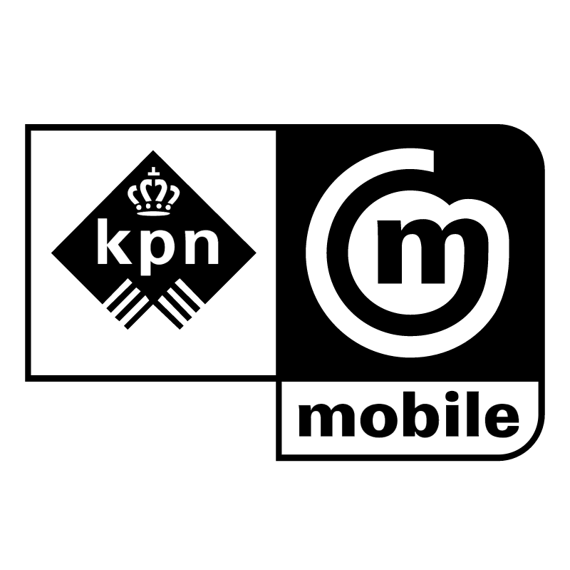KPN mobile vector logo
