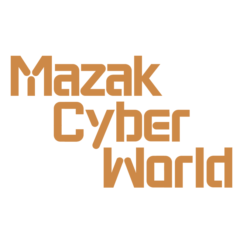 Mazak Cyber World logo