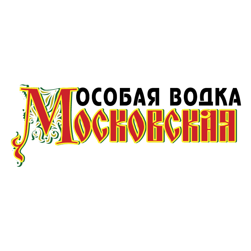 Moskovskaya Vodka vector logo