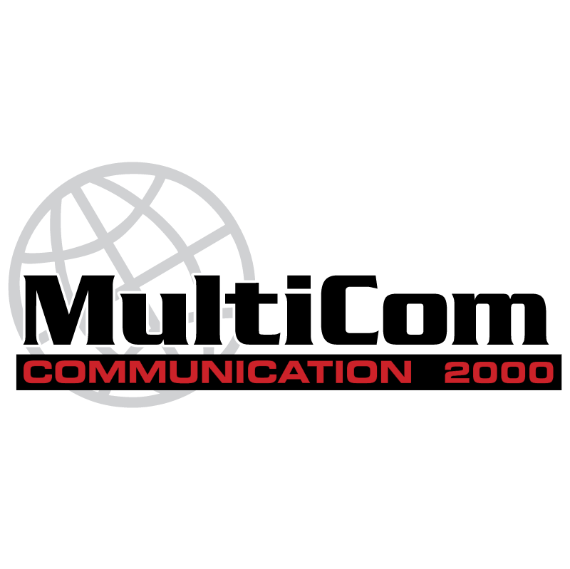 MultiCom vector logo