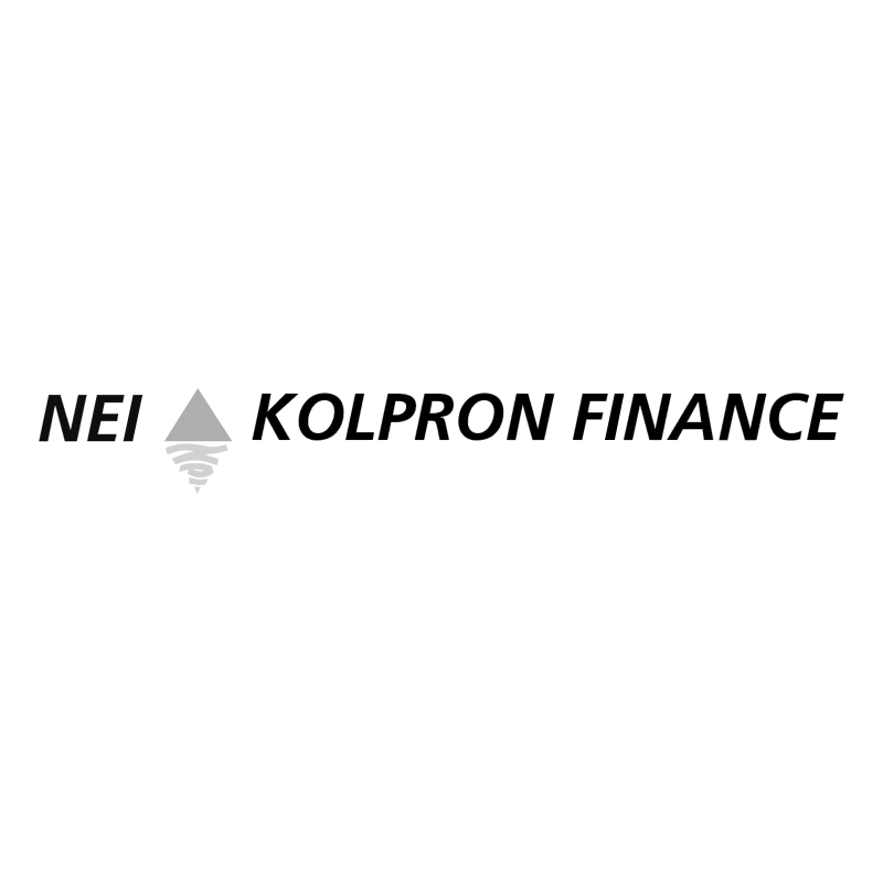 NEI Kolpron Finance vector