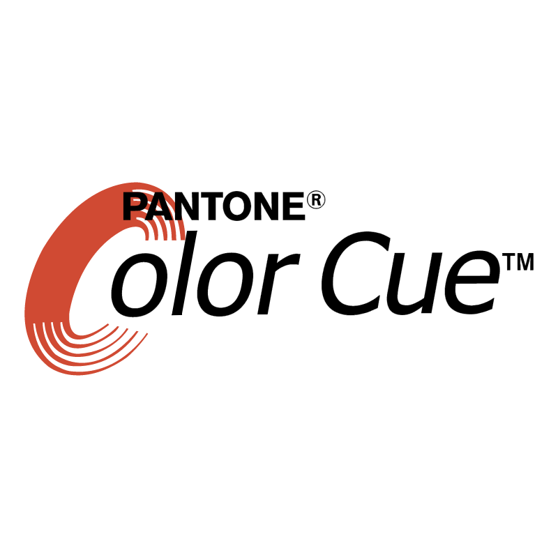 Pantone Color Cue vector logo