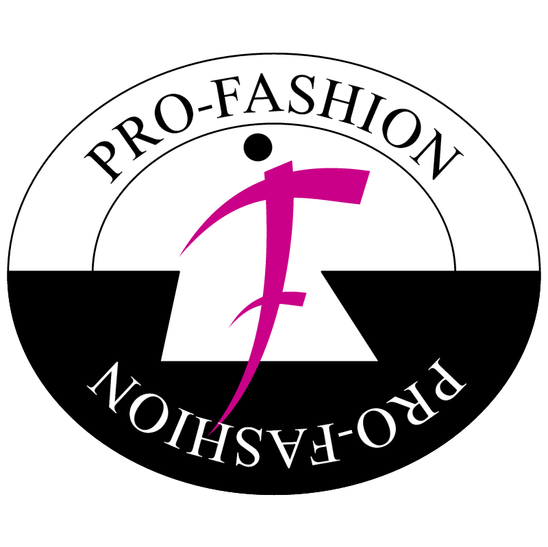 Pro Fashion vector logo