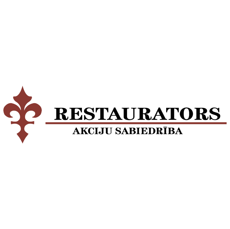 Restaurators vector logo
