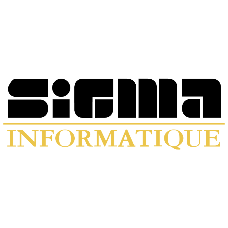Sigma Informatique vector