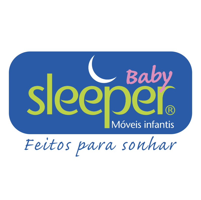 Sleeper Baby vector logo