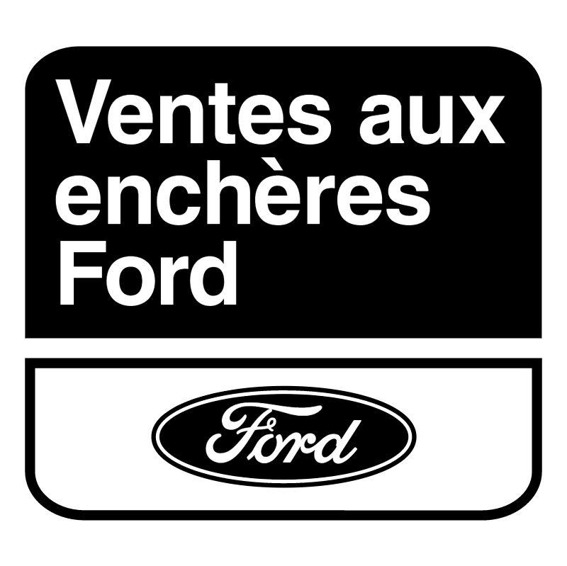 Ventes aux encheres Ford vector logo