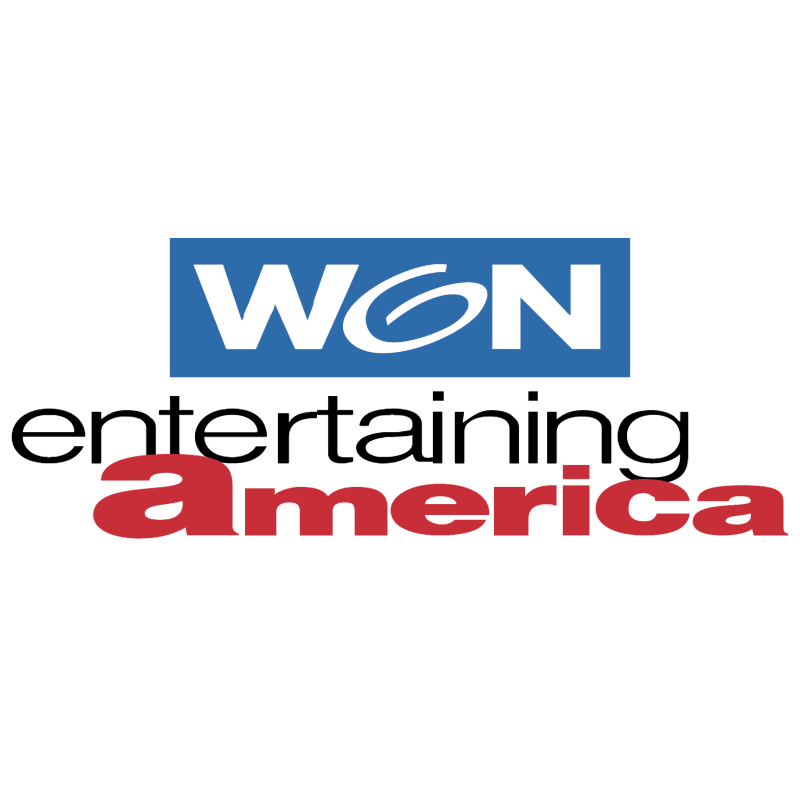 Won Entertaining America vector logo