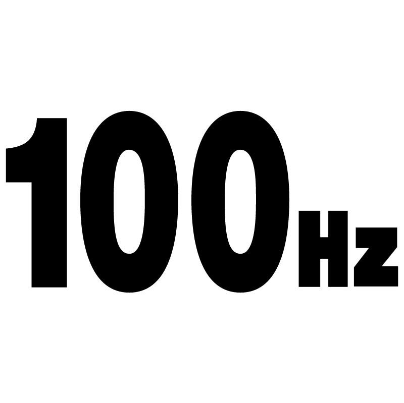 100 Hz vector logo