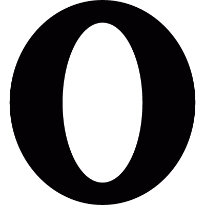 Opera browser logotype logo