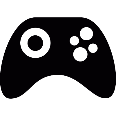 Game controller vector logo