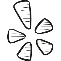 Yelp Draw Logo