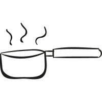 Boiling Water Pan vector