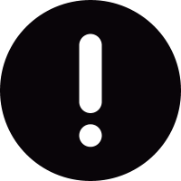 Exclamation Button vector