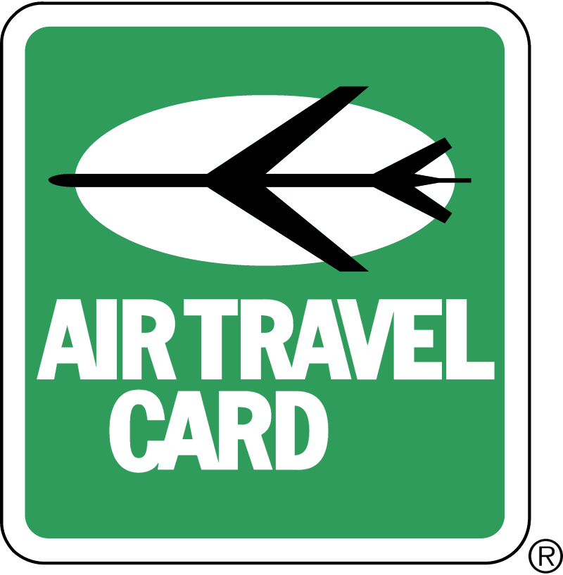 AIR TRAVEL CARD 1 vector