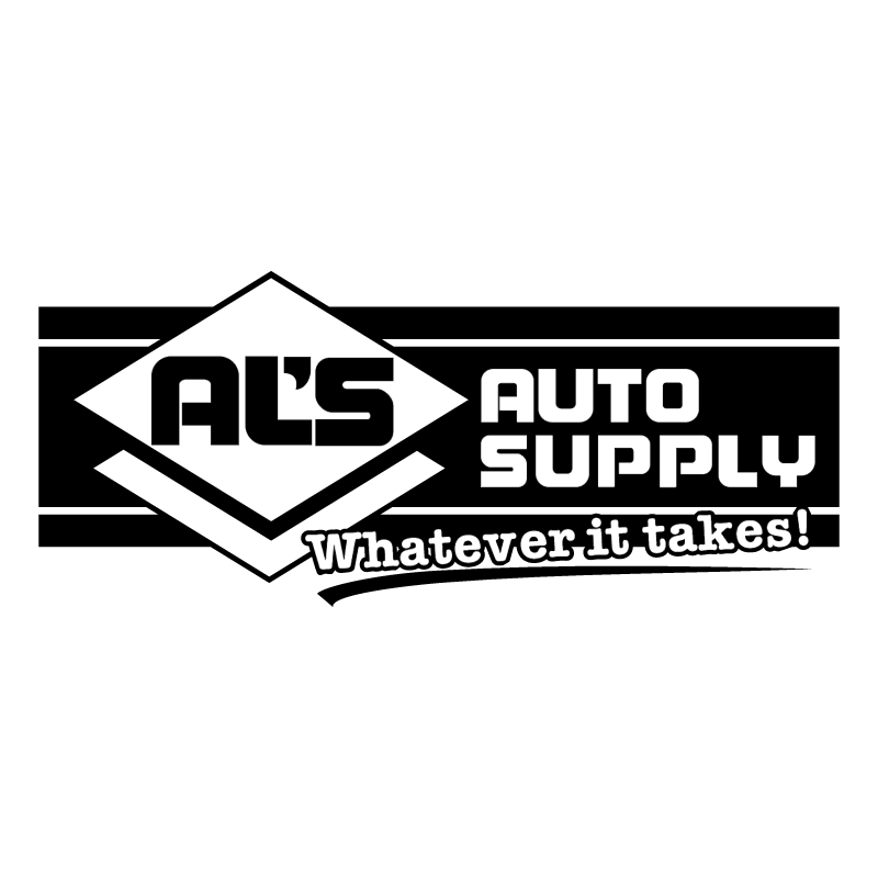 Al's Auto Supply vector
