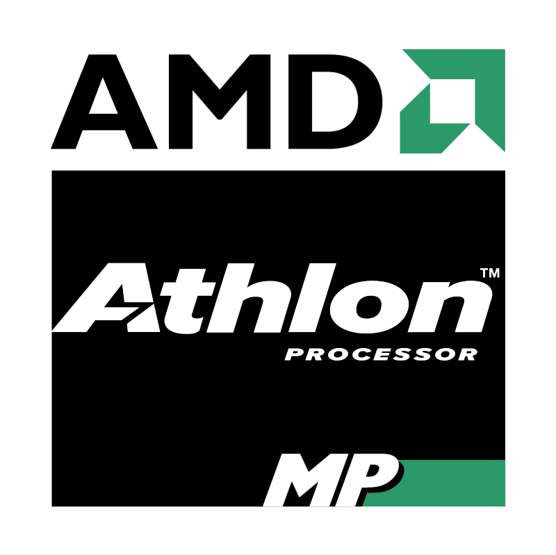 AMD Athlon MP Processor 42556 vector logo