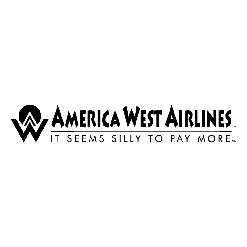 America West Airlines vector
