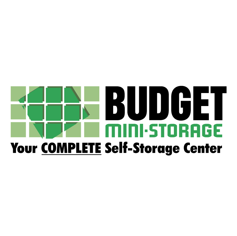 Budget Mini Storage vector logo