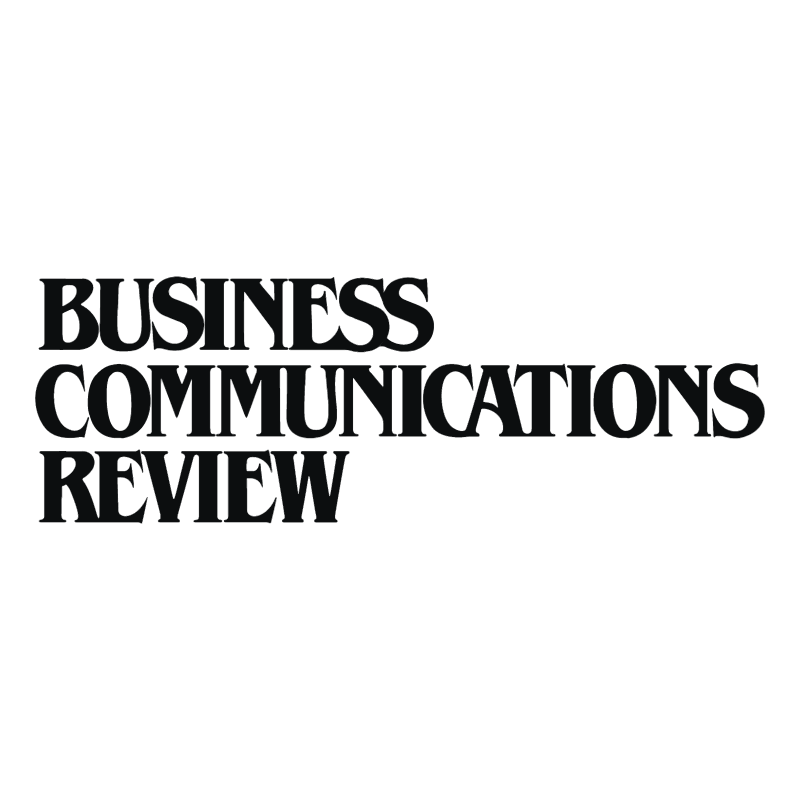 Business Communications Review vector logo
