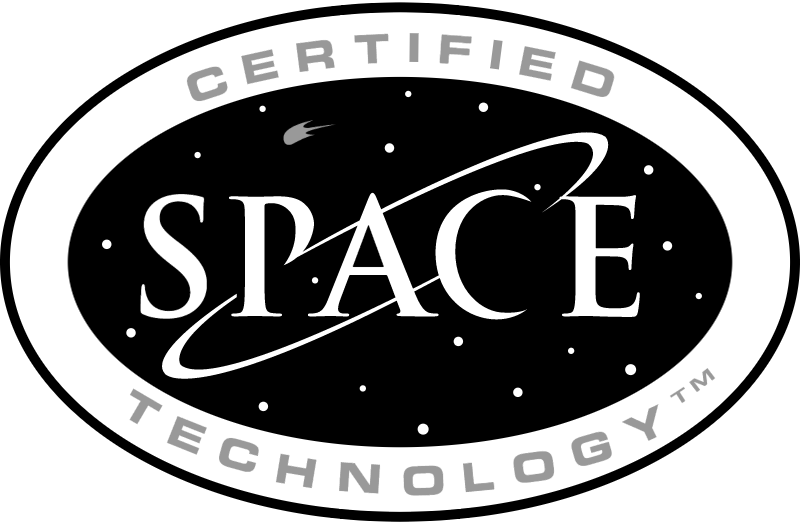 CERTIDIED SPACE TECH vector