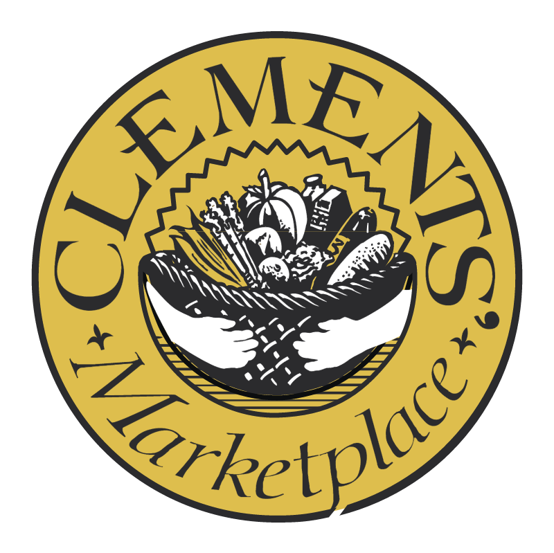 Clements Marketplace vector logo