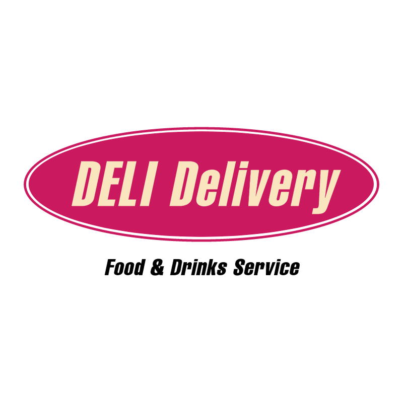 Deli Delivery vector logo