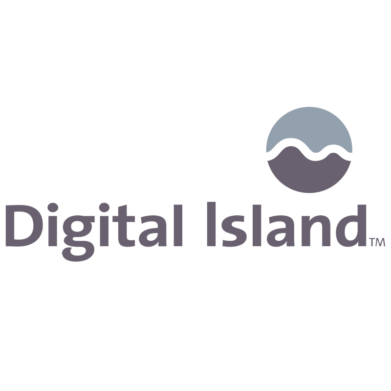 Digital Island vector