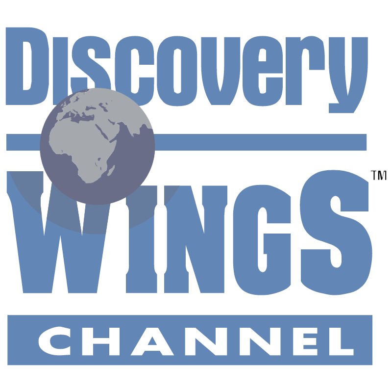 Discovery Wings Channel vector