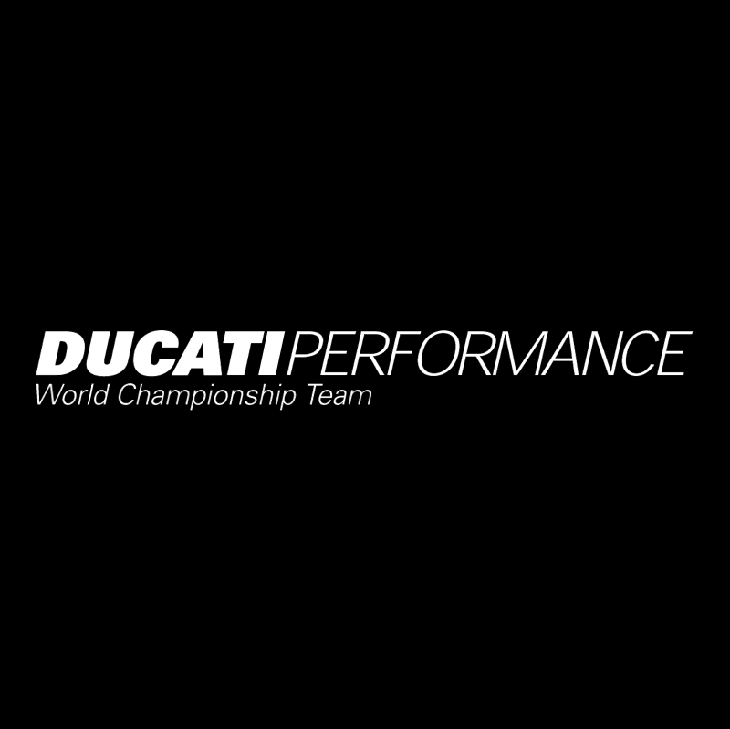 Ducati Performance vector