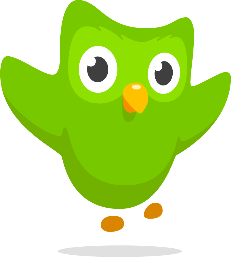 Duolingo symbol icon vector