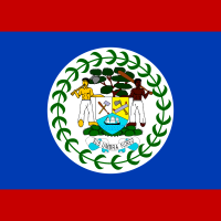 Flag of Belize vector