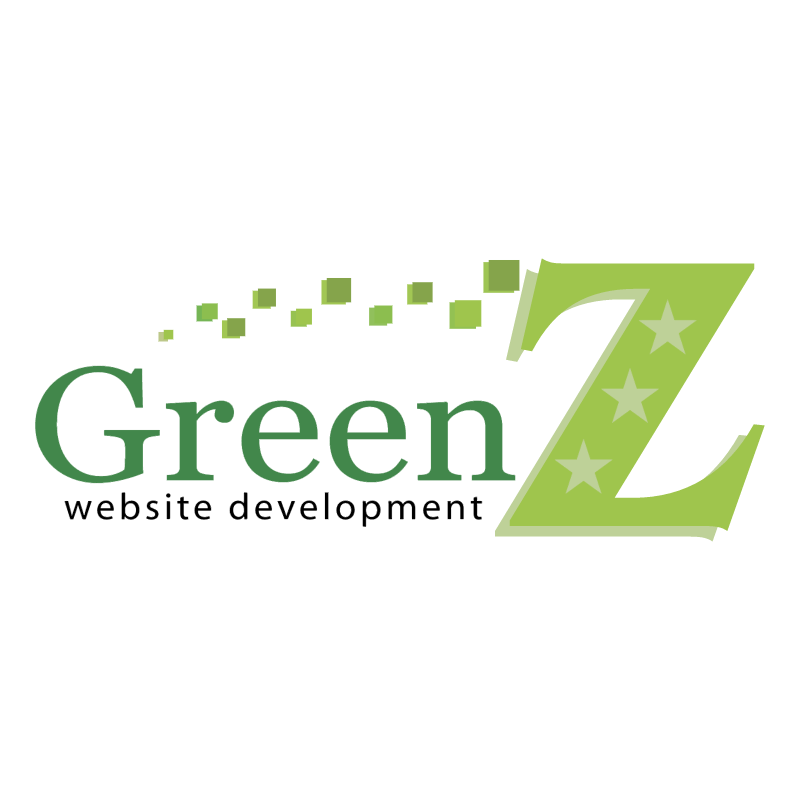 Green Z Website Development vector