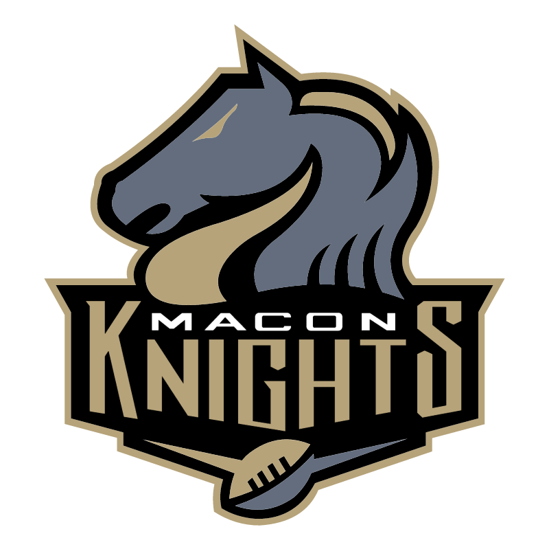 Macon Knights vector logo