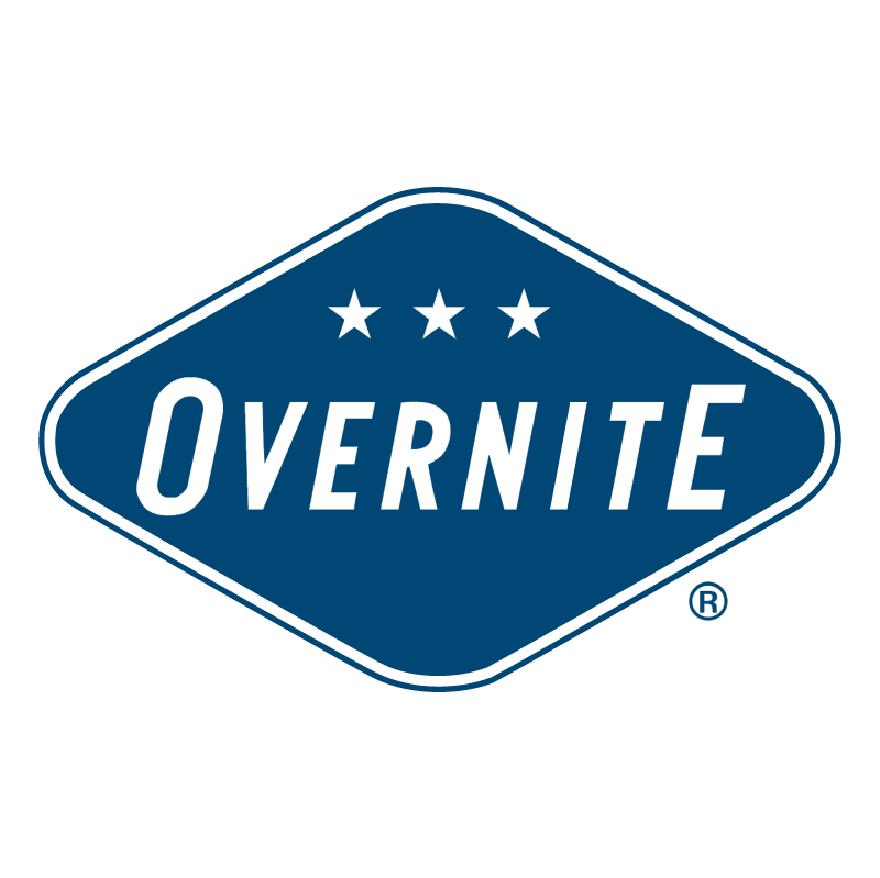 Overnite vector logo
