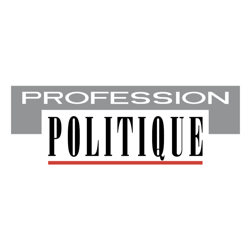 Profession Politique vector