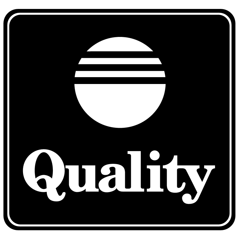 Quality vector logo