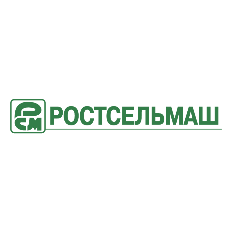 Rostselmash vector logo