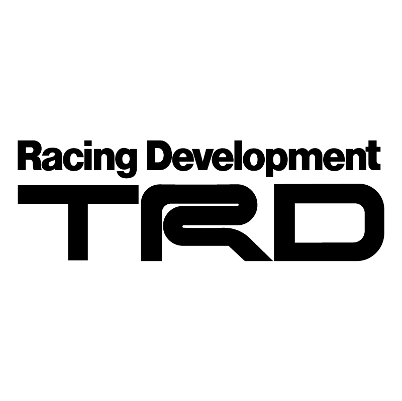 TRD Racing Development vector
