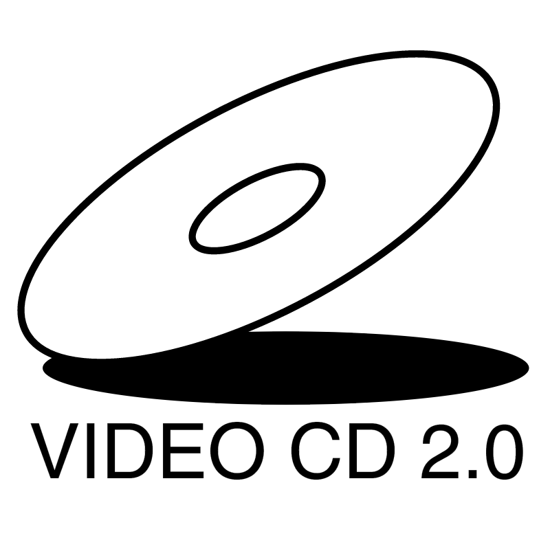 Video CD 2 0 vector logo