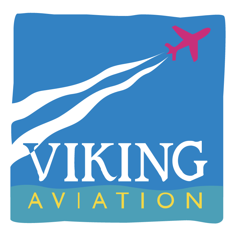 Viking Aviation vector