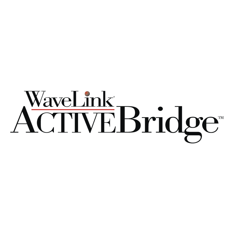 WaveLink ACTIVEBridge logo