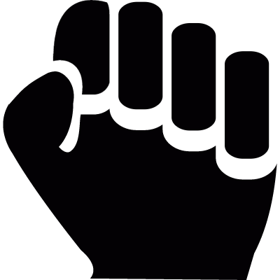 Clenched fist logo