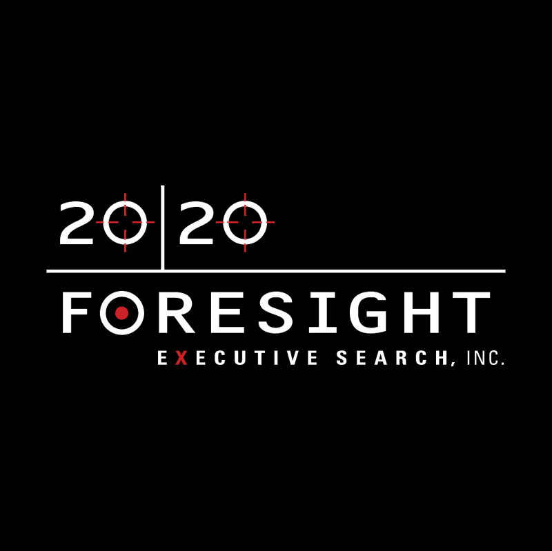 20 20 Foresight Executive Search vector logo