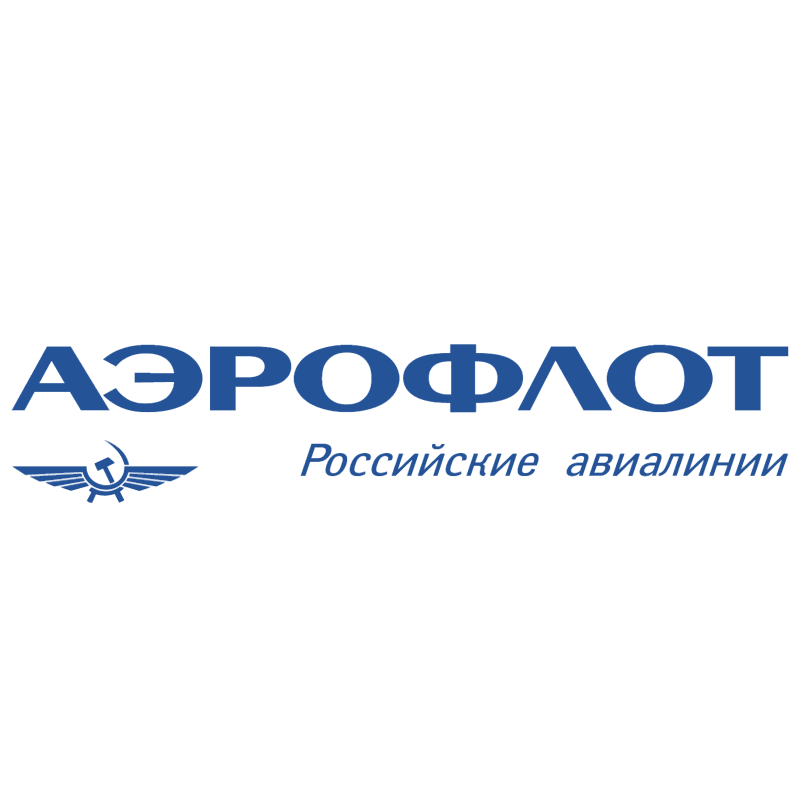 Aeroflot Russian Airlines vector logo